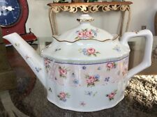Beautiful Petit Rose Teapot by Andrea by Sadek 24 oz Made In Japan Unused XLNT!
