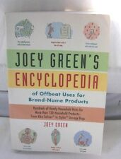 Joey Green's Encyclopedia of Offbeat Uses for Brand Name Products PB Book 1st E