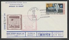 1970 US rocket mail RRI flight XXIX, Apollo 13 - 135C1b