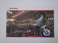 - RITAGLIO DI GIORNALE 1982 MOTO MORINI 500 TURBO