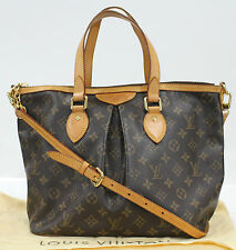 Used Authentic Louis Vuitton Bag Monogram Palermo PM