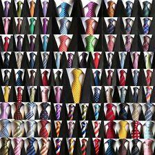 """Wholesale Lot 5 PCS Men's Tie Silk necktie Business Wedding 3.1"""" 200 Style"""