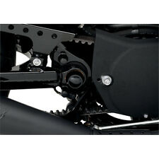 Drag Specialties Black Swingarm Pivot Bolt Covers for 04-13 Harley Sportster