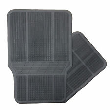 Black Universal Rubber Car Mats Fits Land Rover Discovery