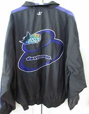 MLB Tampa Bay Devil Rays Full Zip Lightweight Jacket XL by Logo Ath EUC