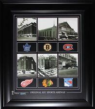 Original Six Arenas 16x20 compilation frame