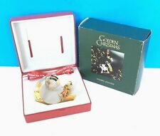 Rare Georg Jensen Christmas Ornament 2002 Gold Plated Denmark