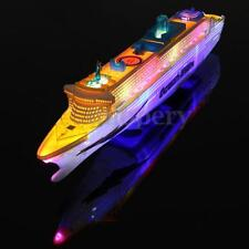 OCEAN LINER CRUISE SHIP BOAT ELECTRIC TOY FLASHING LED LIGHTS SOUNDS KIDS CHILD