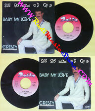 LP 45 7'' CRESTY Baby my love On my mind 1984 italy DELTA DE 728 no cd mc dvd(*)