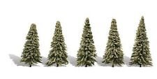 Woodland Classics TR3566  Trees 'Blue Needle' (5 Pk)  N,HO,O Scale Free T48 Post