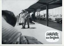 MICHEL AUCLAIR CLAUDINE COSTER TRAFICS DANS L'OMBRE 1964 PHOTO D'EXPLOITATION #6