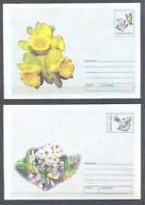 ROMANIA 2002, Butterflies, Insects, Flowers - 2 Envelopes .(18)
