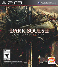 Dark Souls II 2 Black Armor Edition with DLC PlayStation 3 PS3 FREE SHIPPING