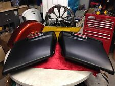 """97-17 Harley 4"""" Stretched Extended Saddlebags Touring Road Street Hardware"""