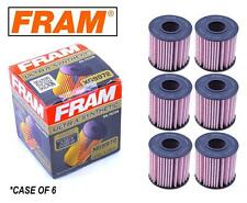 6-PACK - FRAM Ultra Synthetic Oil Filter - Top of the Line - FRAM's Best XG9972