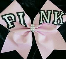 Cheer Bow - PINK - Glitter - Hair Bows