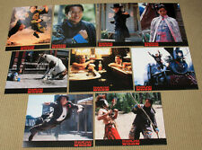 SHANGHAI NOON original SEALED LOBBY CARD SET Owen WIlson JACKIE CHAN Lucy Liu