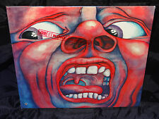 King Crimson ‎In The Court Of The Crimson King SEALED USA 1978 LP W/ HYPE STICKE