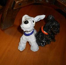 Goldscheider Austria Ida Meisinger  Twin Scottie Dogs Figure 1930s very rare