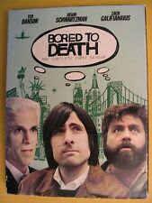 Bored to Death The Complete First Season DVD Box Set Zach Galifianakis HBO TV