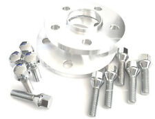 2 17mm Hub Centric Wheel Spacers 5x112 Mercedes 12x1.5 Chrome Lug Bolts 66.56 CB