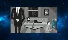 Enter The Twilight Zone Fridge Magnet. NEW. Sci Fi Memorabilia. Art Deco