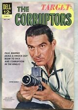 Target : The Corruptors #3-1962 vg Dell Comic last issue based on the TV Series