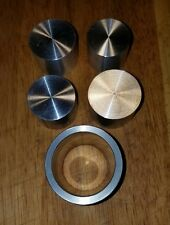 "COIN RING DIE SET FOR SWEDISH WRAP (SW)  METHOD 1.6"" EXTRUSION DIE & 4 PUSH RODS"
