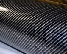 Skymex best 4D BLACK Carbon Fibre Vinyl Wrap Sheet Film Sticker 30cm x 1.52m