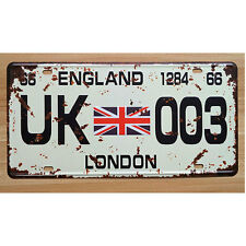 LAND ROVER LICENSE PLATE UK 003 XDCP-310 ROV0031