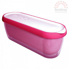 100% Genuine! TOVOLO Glide-A-Scoop Ice Cream Tub Container Pink! High Quality!