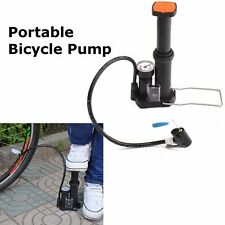 Mini Portable Bicycle Cycling Bike Air Pump Tyre Tire Inflator Presta Schrader