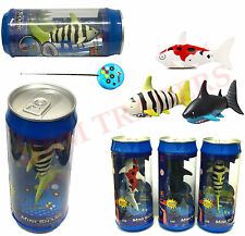 Coke Can Radio Remote control RC Super mini ELECTRIC Shark fish Boat Kids Toy