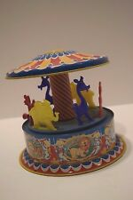 Vintage 1950's Mattel Windup Toy Merry-Go-Round
