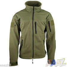 Tactical Recon Military Fleece Zip Hoodie Army Jacket Combat Hoody Airsoft