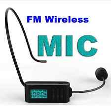 DSP & PLL Digital FM wireless microphone MIC FM Transmitter 87.0Mhz-108.8Mhz