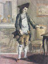 Auguste de Saint Aubin postier poste messager France post office 2e moitié XVIII