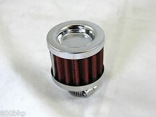 Large Breather Filter 15mm Neck Internal Diameter (Oil / Crankcase / Air)
