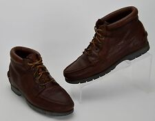 Timberland Waterproof Women's Size 9.5 M Solid Brown Leather Lace Up Hiking Boot