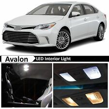 17x White LED Lights Interior Package Kit for 2013-2016 Toyota Avalon