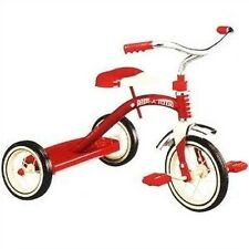 """NEW IN BOX RADIO FLYER #34 CLASSIC STEEL RED 10"""" TRICYCLE STEEL HOT SALE!!"""