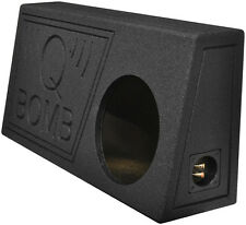 "Qpower QBTRUCK110V Single 10"" Truck Ported SPL Empty Woofer Box w/Liner Spray"