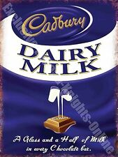 Vintage Food, 78, Chocolate Dairy Milk, Cafe Kitchen Shop, Novelty Fridge Magnet