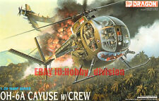 DRAGON 3310 1/35 OH-6A CAYUSE Helicopter w/CREW