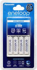 Panasonic eneloop standard battery charger w/ 4x eneloop AA - Original Aus Plug