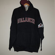 NHL Colorado Avalanche Hooded Full Zip New Size Big Mens 5XL