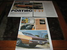 1971 Pontiac T-37 article reg. no. 441PJE
