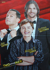 Two And A Half Men [A. Kutcher] __ POSTER/MANIFESTO __ a3 __ 28 CM x 42 cm