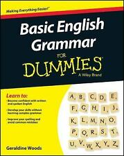 Basic English for Dummies® by Geraldine Woods (2015, Paperback)