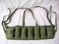 Chinese Surplus Sks Rife 7.62x39 7 Seven Pocket M-63 Chest Rig Ammo Pouch